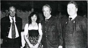 Christoph Oberrauch, Sabine Ortner, Jörg Trenkwalder und Christian Oberguggenberger