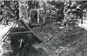 Kanal- und Wasserrohrverlegung Lehnerg