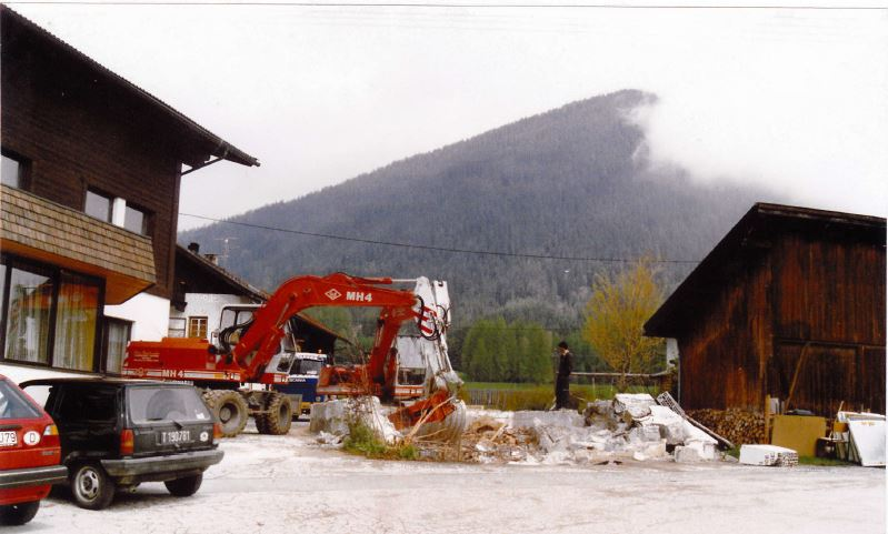 Mai 1991 : Abriss