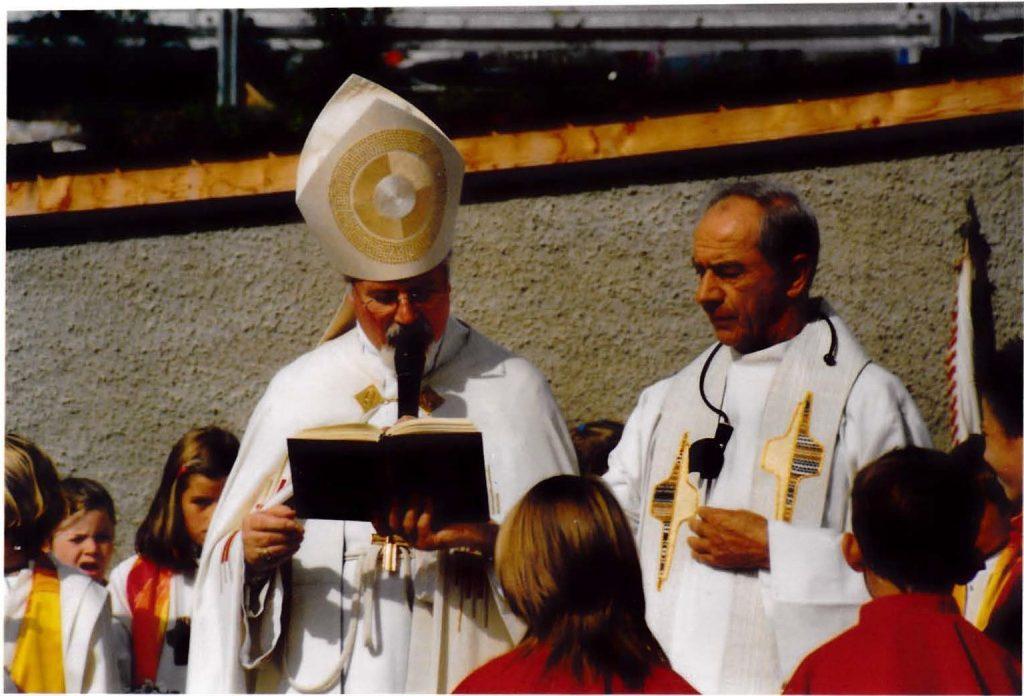 Abt German und Pfarrer P. Augustin Neumüller