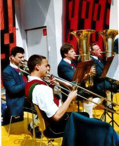 Posaune: Roman Patterer, Roland Liebentritt Bass: Franz Rudig, Anton Riser