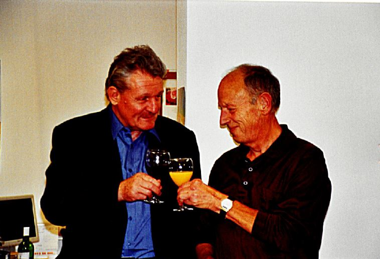 Hermann Agerer und Hubert Stecher